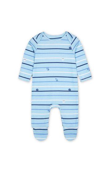 Mothercare | Blue Striped Romper