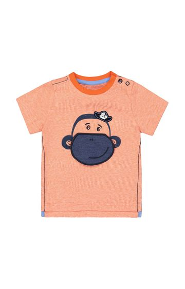 Mothercare | Orange Striped T-Shirt