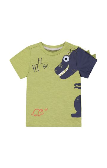 Mothercare | Green Printed T-Shirt