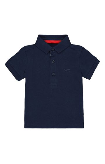 Mothercare   Navy Solid T-Shirt