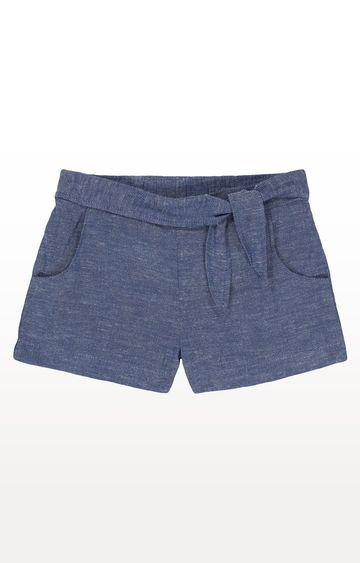 Mothercare | Chambray Knot-Waist Shorts
