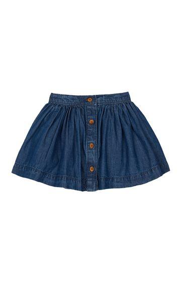 Mothercare | Denim Solid Skirt