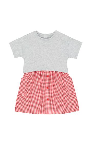 Mothercare | Grey Checked Dress