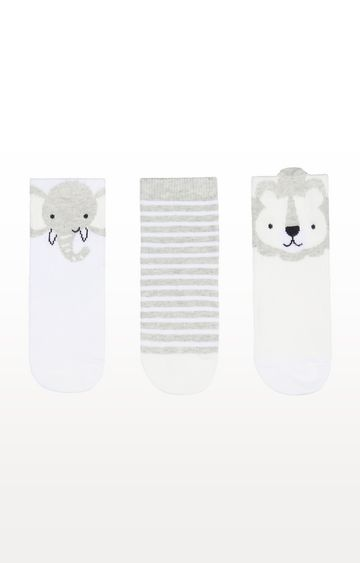 Mothercare | Lion Novelty Socks - 3 Pack