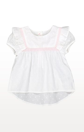 Mothercare   Frilled Dobby Blouse