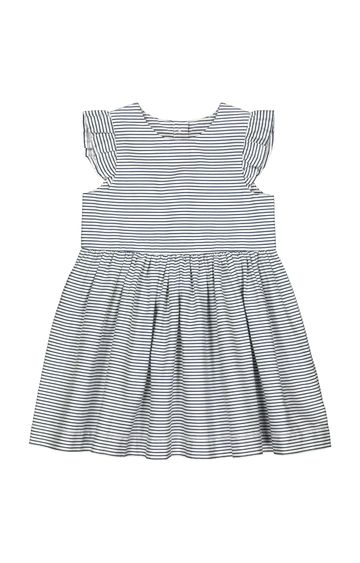Mothercare   White Striped Frock