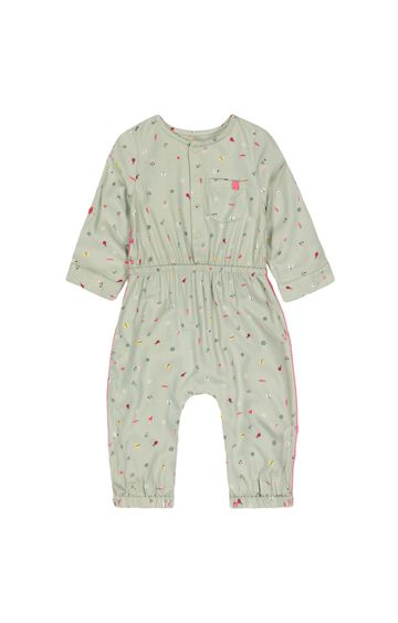 Mothercare | Olive Printed Jumpsuit