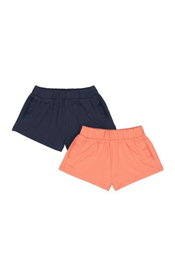 Mothercare | Multicoloured Solid Shorts - Pack of 2