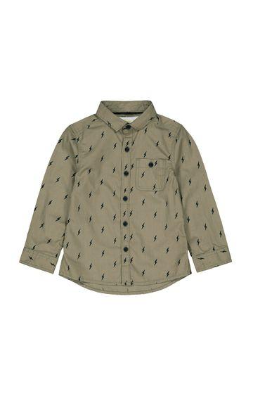 Mothercare | Grey Printed Shirt