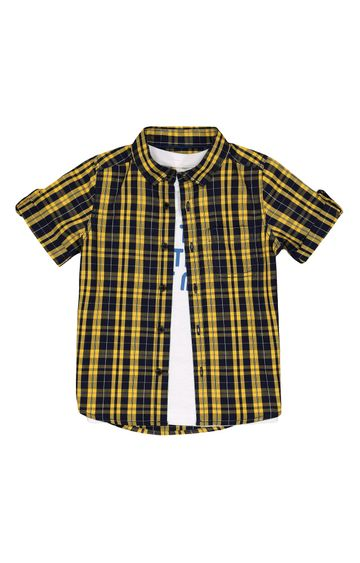 Mothercare | Yellow Checked Shirt