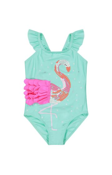 Mothercare   Blue Printed Swimsuit