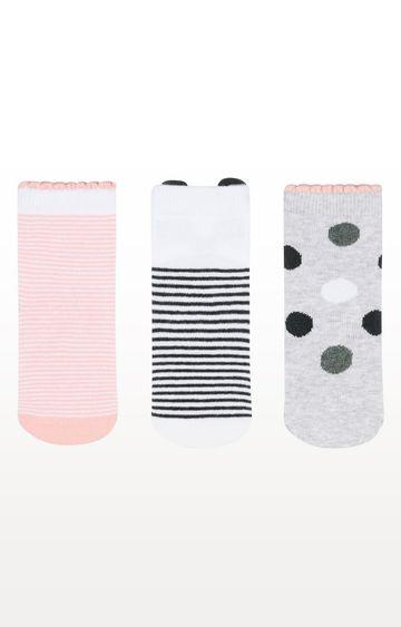 Mothercare | Panda Novelty Socks - Pack of 3
