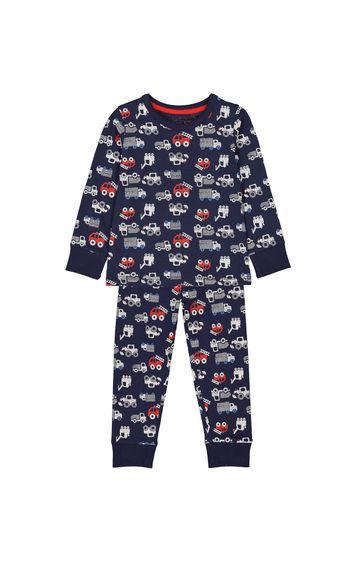 Mothercare | Navy Printed Pyjamas