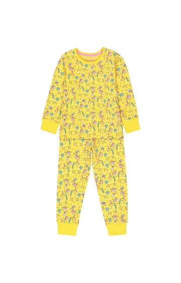 Mothercare | Yellow Printed Pyjamas