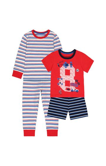 Mothercare | Red Printed Pyjamas
