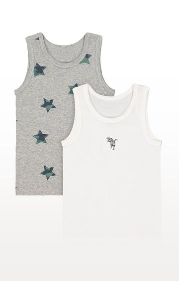 Mothercare | Dinosaur Vests - 2 Pack