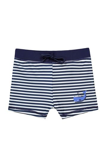 Mothercare | Navy Striped Beachwear Bottom