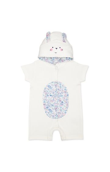 Mothercare | White Printed Romper