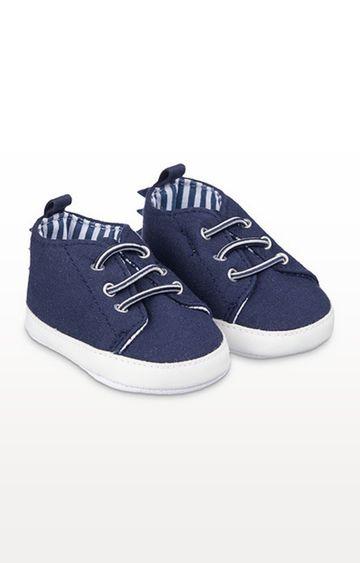 Mothercare | Navy Dino Pram Shoes