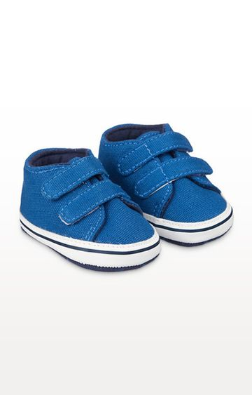 Mothercare | Blue Pram Trainers