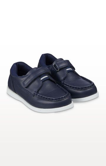 Mothercare | Navy Boat Shoes