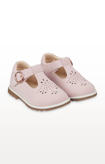 Mothercare | First Walker Pink T-Bar Shoes