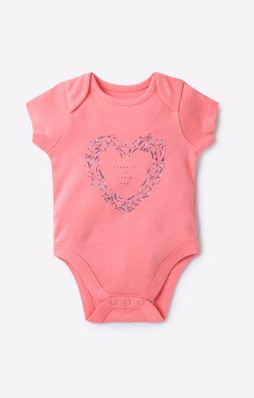 Mothercare   Pink Girl Bodysuit