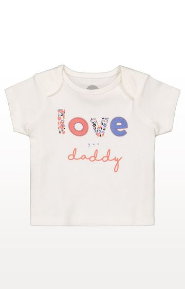 Mothercare | White T-Shirt