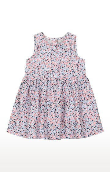 Mothercare | Girls Sleeveless Casual Dress - Multicoloured
