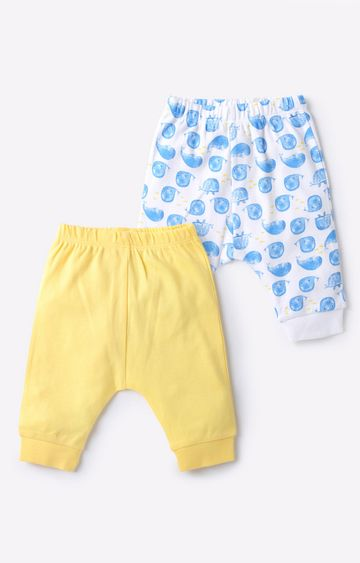 Mothercare   Yellow & White Boy Joggers
