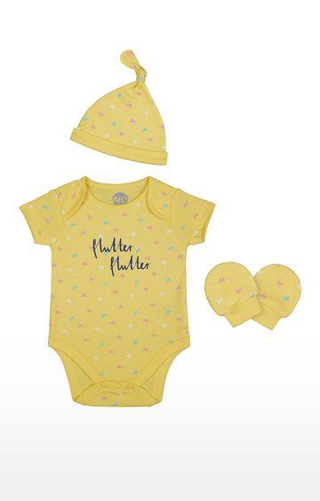Mothercare | Girls 3Pcclothing Set - Yellow