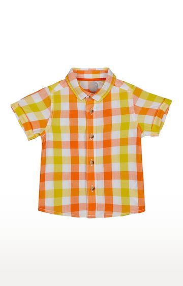 Mothercare | Boys Half Sleeve Shirt - Multicoloured