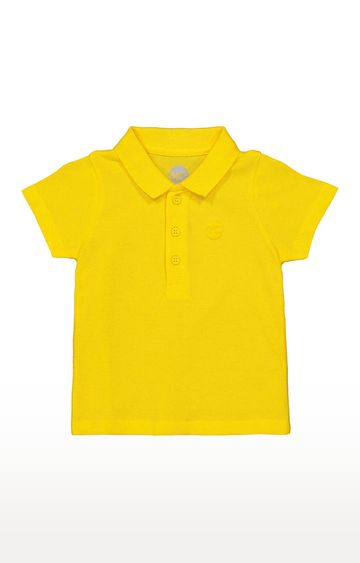 Mothercare | Boys Half Sleeve Polo - Yellow