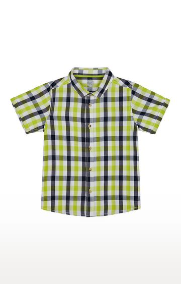 Mothercare | Boys Half Sleeve Shirt - Green