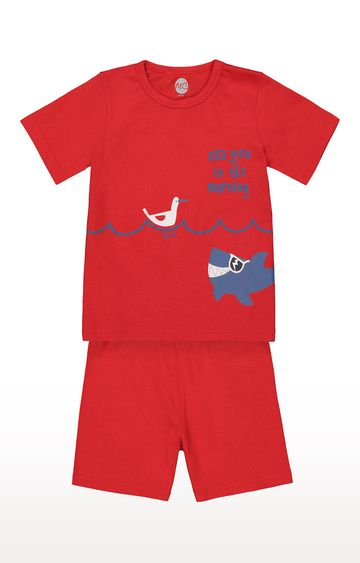 Mothercare | Boys Shortie Set - Red