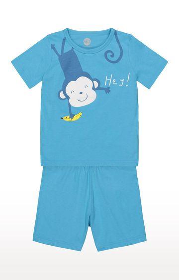 Mothercare   Boys Shortie Set - Blue
