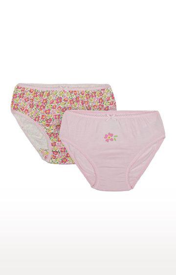 Mothercare | Pink Printed Panties - Pack of 2