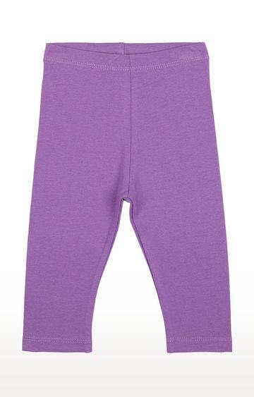 Mothercare   Girls Leggings - Purple