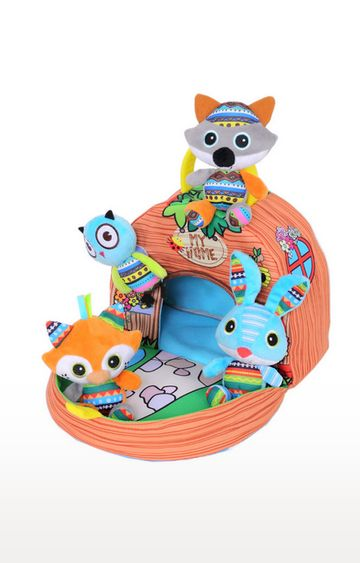 Mothercare | Biba Toys Woodland Friends Carry Along Tree House With 4 Animals