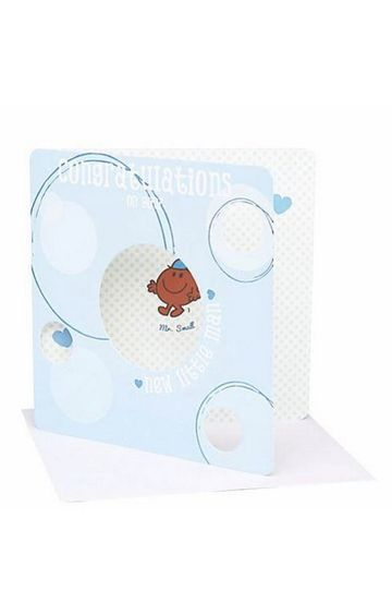 Mothercare | Mr Men New Baby Card