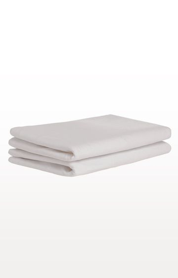 Mothercare | White Cotton Jersey Fitted Sheets - 2 Pack