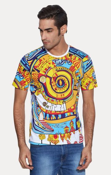 play clan | Multicoloured Printed T-Shirt