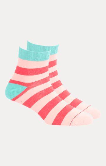 Soxytoes   Pink Striped Socks