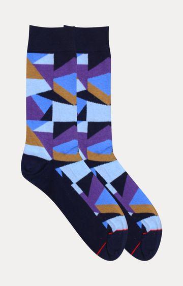 Soxytoes   Blue Printed Socks