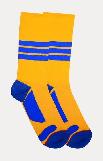 Soxytoes   Yellow Solid Socks