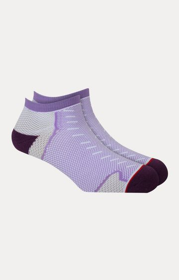 Soxytoes   Purple Printed Socks