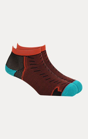 Soxytoes   Orange Printed Socks
