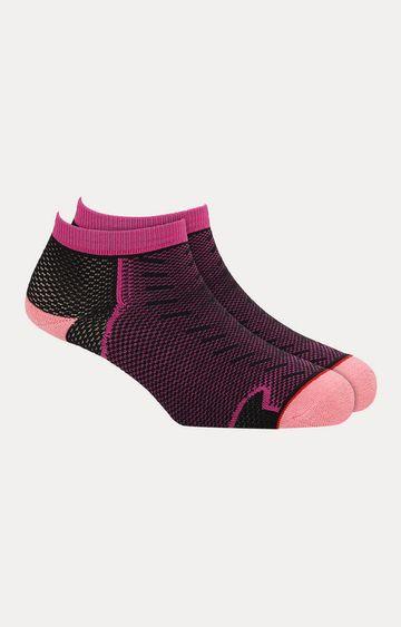 Soxytoes   Pink Printed Socks