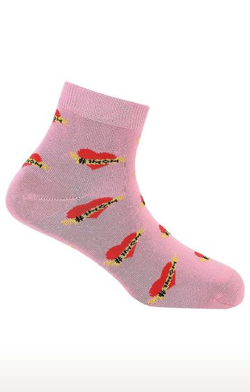 Soxytoes | Best Mom Pink Free Size Cotton Socks