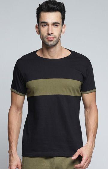 Dillinger | Black Colourblock T-Shirt